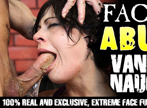 Facial Abuse Destroys Vanessa Naughty